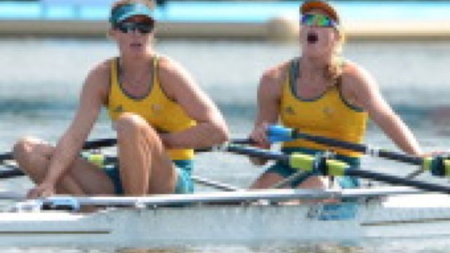 Silver in the Women's Double Sculls