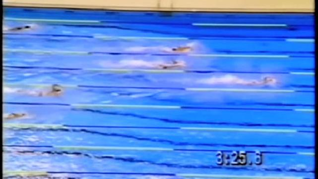 Aussies in 4x200m Freestyle relay at Seoul 1988
