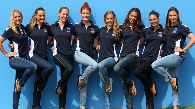 Synchro girls pysched about selection
