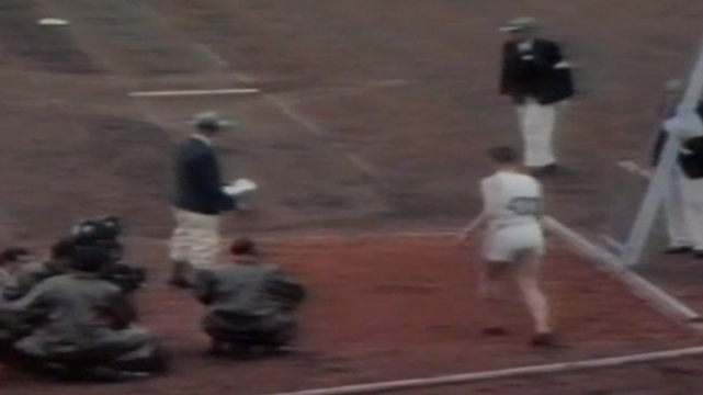 Triple jump George Avery and Les McKeand