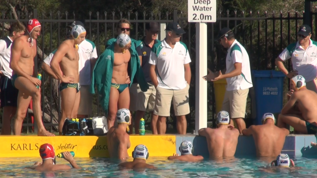 Men's Water Polo team takes on Japan