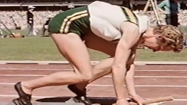 Athletics: Women's 4x100m Relay Melbourne 1956