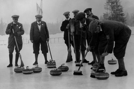 Britain's First Olympic Curlers