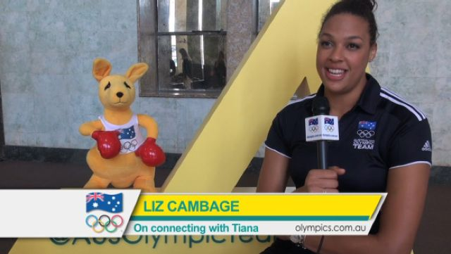 Cambage on connecting with Penitani