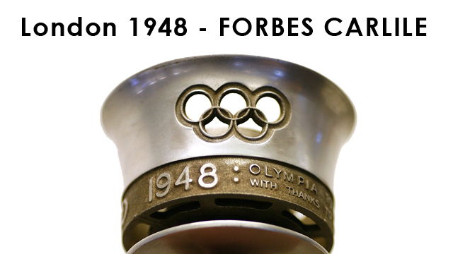 Australian Olympic Flashback - Forbes Carlile London 1948