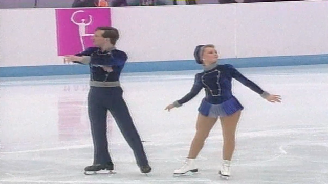 Danielle McGrath (Carr) and Stephen Carr - Figure skating pairs
