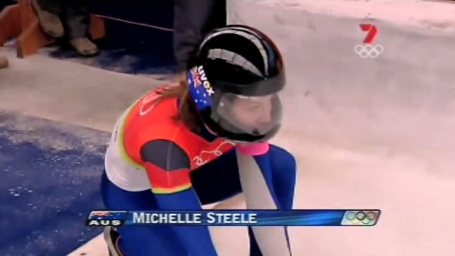 Michelle Steele - women's skeleton