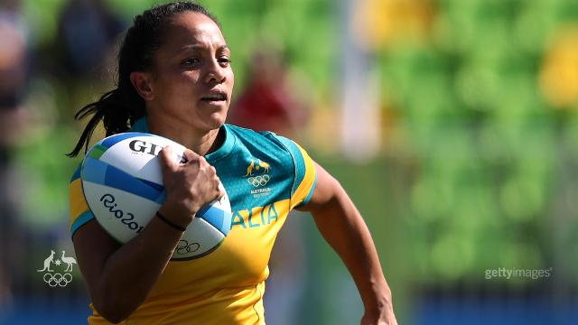 Successful first day for Women's Rugby Sevens