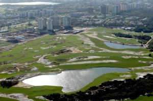 Aerial View of the Rio Olympic Golf Course July 2015