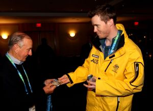 Australian Olympic Winter Team Medal Party