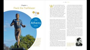From Athens With Pride page spread
