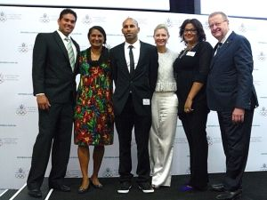 Indigenous Olympians at AOC AGM