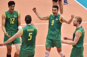 Volleyroos celebrate