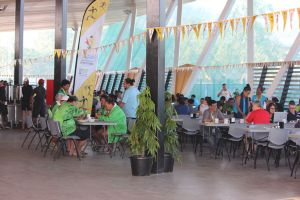2015 Pacific Games dining hall