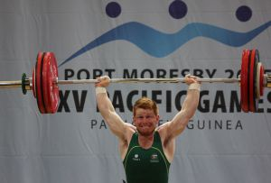 West Australian Matthew Munns at 2015 Pacific Games