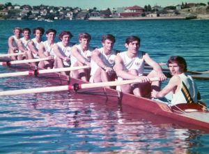 Men's 8 crew from Munich 1972