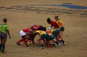 Aussie sevens rugby take on Tonga