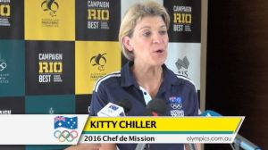 Chiller announces 10 sport Team Leaders for Rio 2016