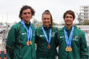 Australian Pacific Games sailing medallists