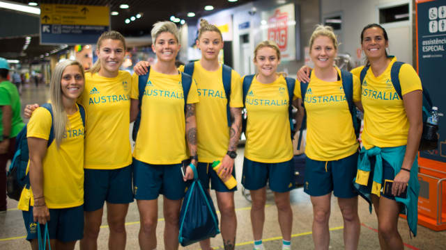 Finishing touches for Aussie footballers