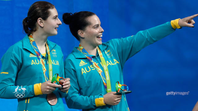 Diving duo bag the bronze.