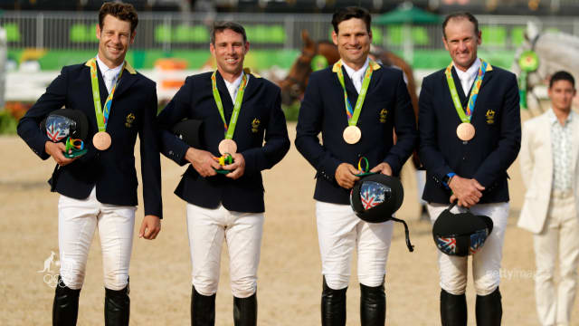 Gutsy eventing team grab the bronze.