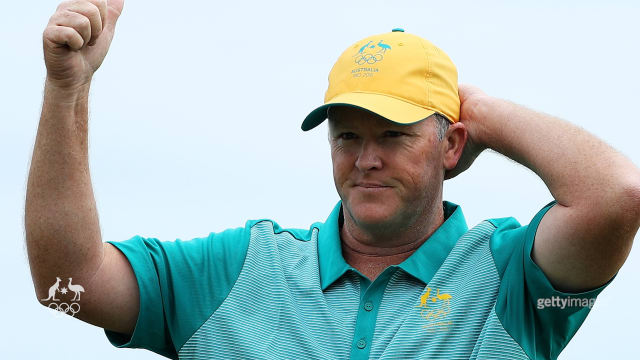 Marcus Fraser the clubhouse leader after day one.