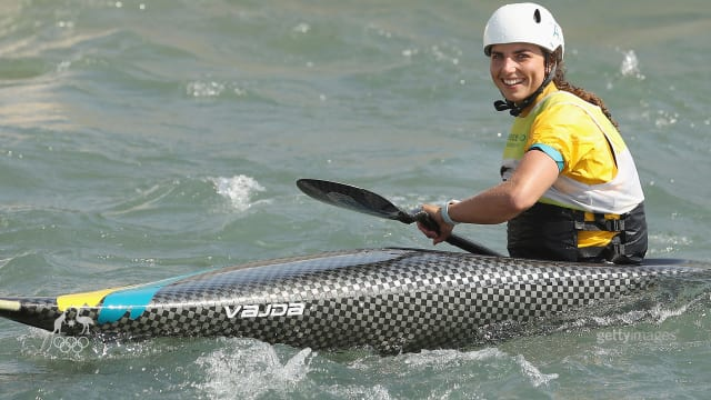 Jess Fox claims bronze in the K1 Canoe Slalom