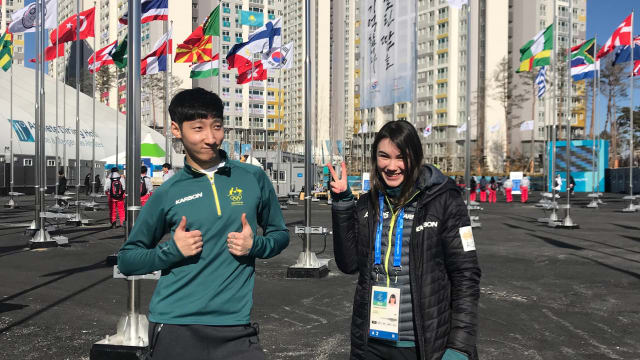 First athletes arrive in PyeongChang Athletes Village.