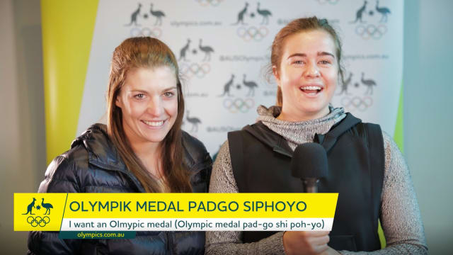 Korean Phrases: Olympik medal padgo siphoyo