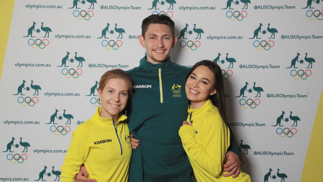 Figure Skaters named on the 2018 Australian Winter Olympic Team