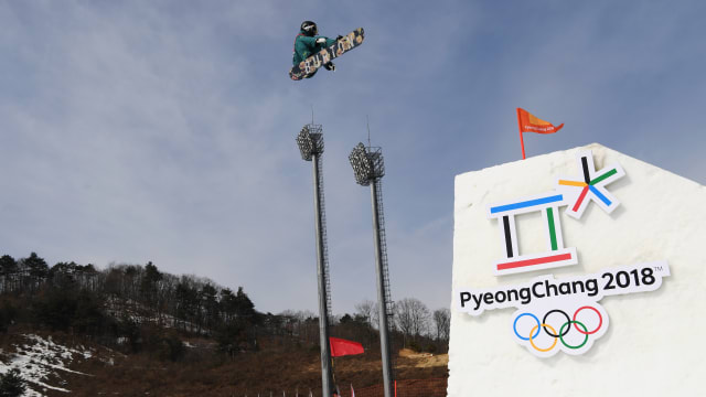 Rich stoked to be part of Big Air debut