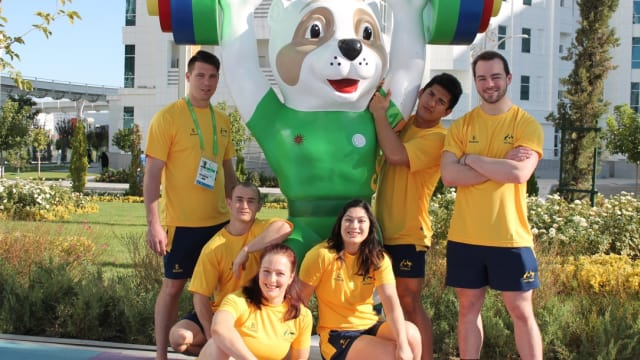 Meet Australia's weightlifters for Ashgabat 2017