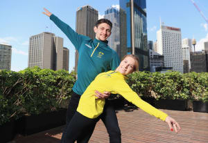 Figure Skaters selected on the Australian Winter Olympic team