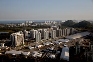 Olympic Village - One Month To Go