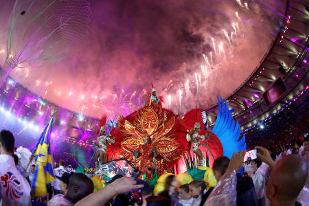 Closing Ceremony 2016 Olympic Games - Olympics: Day 16