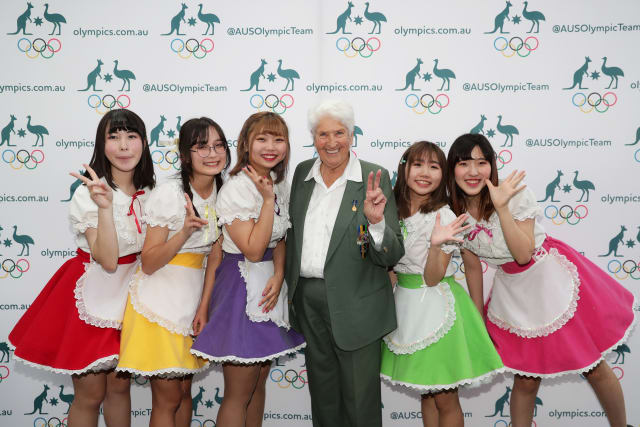 Dawn Fraser and J-Pop band - Uncle Tetsu's Cheesecake Shop